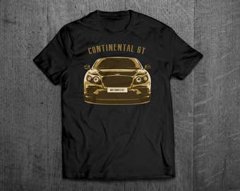 Bentley Continental GT t shirt, bentley shirts, Cars t shirts, men tshirts, women t shirts, muscle car shirts, bikes shirts, cars decal