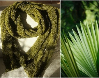 Green - mossy scarf