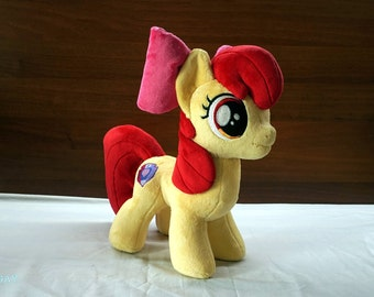 MLP Apple Bloom  Handmade Plush