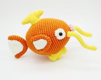 Magikarp Amigurumi - Pokemon Chibi Crochet Plush