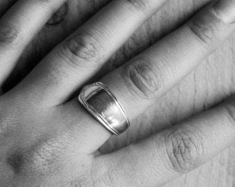 Vintage Spoon Ring, Spoon Jewellery, Silver Spoon Ring, Recycled Spoon Ring, Spoon Jewelry, Cutlery Jewellery, Antique Spoon Ring,Spoon Ring