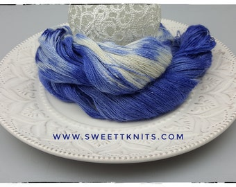 Blue Monday, Hand Dyed Yarn