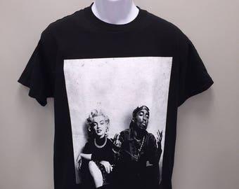 tupac shirt etsy