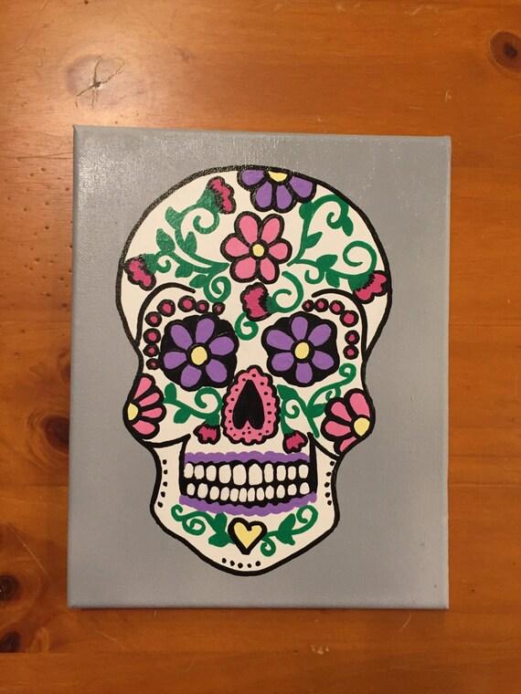 Sugar Skull Canvas - My Sugar Skulls