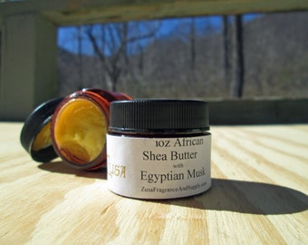 Choose Size 1oz OR 2oz and Infusion of Golden African Shea Butter moisturizer