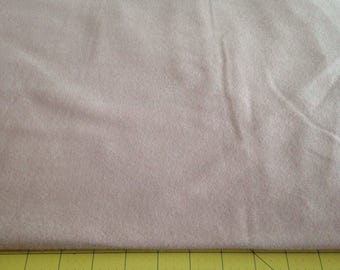 Pink Wool Blend Fabric