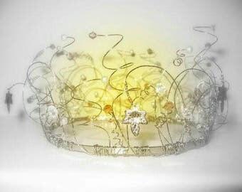 Autumn Crown/Bun Ring