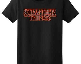 Stranger Things T-Shirt, Ladies Stranger Things Shirt, Sizes XS-3XL, Gift for Her. 2000L