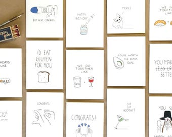 Wholesale Greeting Card Starter Pack - Birthday Cards, Thank You Cards, Love Cards, Congrats Cards