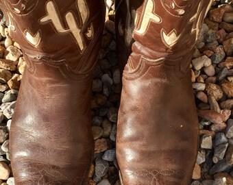 Kirkendall 10 Boots Size 10 Mens Cowboy Vintage from Omaha Nebraska