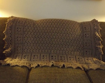 Accent Throw - Coffee is good!