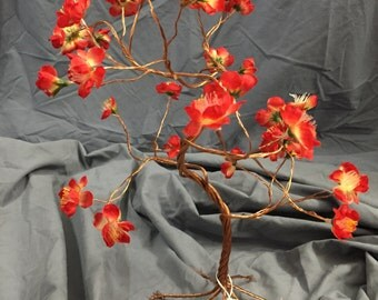 Red flower copper tree