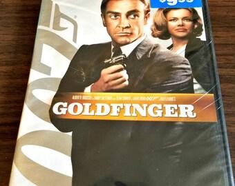 Goldfinger Movie - 007 James Bond - Widescreen DVD - Original 1964 - Ready To Ship