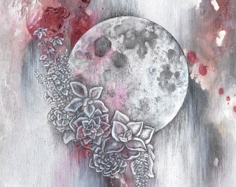 Moon Bloom, No. 2 - Giclée Print