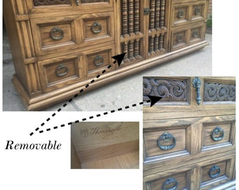 """Single or Double Bathroom Vanity~  78"""" Long//Vintage Thomasville//Shabby//Cottage//Chic//Buffet//Dresser//Sideboard"""