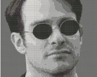 Matt Murdock/Daredevil Cross Stitch Pattern