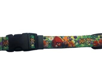 Angry Birds Dog Collar