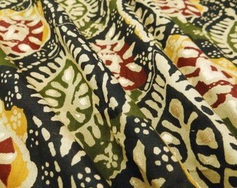 Decorative Apparel Fabric Material Cotton Fabric For Sewing Designer Black 100%cotton quilting fabric floral printing for woman by 1 ZBC6649