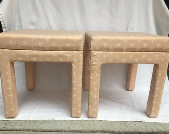 Pair of Parsons Stools.