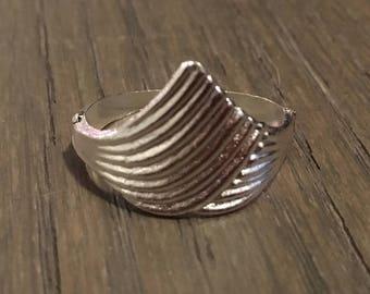 Vintage Silver Thumb Ring