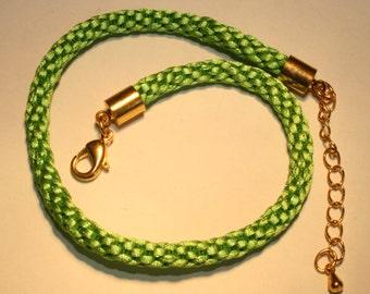 Kumihimo Bracelet/Anklet