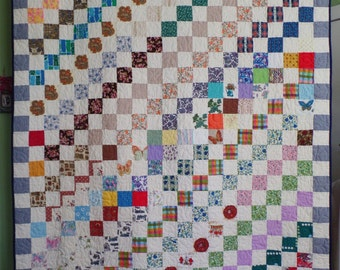 MADE TO ORDER: King, Queen, Full, and Twin Size Custom Quilt Deposit, Upcycle Quilt, Traditional Quilt, Handmade Quilt, Patchwork Quilt