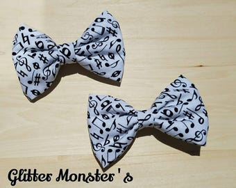 Musical Notes Bow Tie , Music Bow Tie, Infant-Adult Bow Tie, Mens Ties, Boys Tie, Bow Ties,Mens Bow Ties,Boys Bow Tie,Wedding Bow Tie,Bowtie