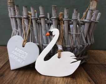 Swan decoration, swan decor, wedding swan, swan gift, swan princess, swan ornament