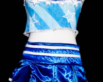 Cheer leader of Umi of Love Live costume