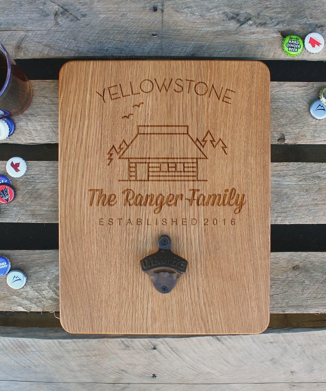 custom wood bottle opener board custom beer bottle opener. Black Bedroom Furniture Sets. Home Design Ideas