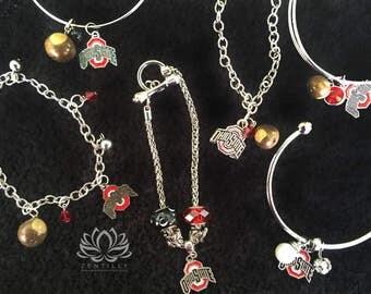 Go OSU Buckeyes Bracelets by Zentilly©