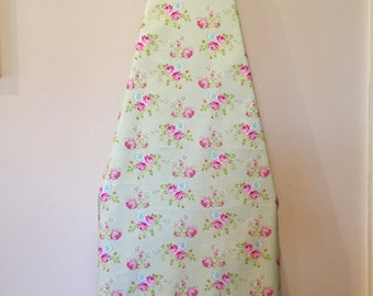 Ironing Board Cover/Floral Ironing Board Cover/Roses Laundry Room Decor/Rose Ironing Board Cover/Table Top Ironing Board/Laundry Room Decor