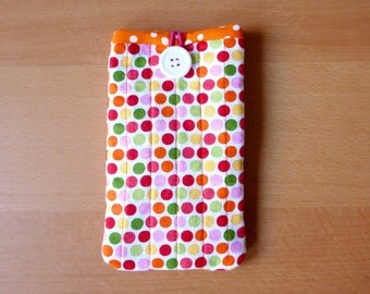 Colourful polka dots iPhone/ Smartphone/ Cell phone cover