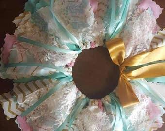 pink mint gold first birthday tutu spa blue tutu gold fabric tutu newborn infant tutu mint green princess skirt mint gold fabric tutu