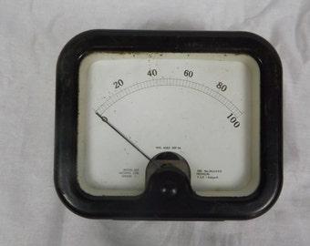 Vintage Kilowatts meter - 500 UA 200 ohms