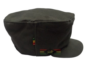 Jungle green cadet hat 334