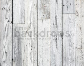Vinyl Backdrop - Photography Backdrop - Product Photography - Wood Backdrop - Rustic Backdrop - Grey Wood 022W - Print To Order 2ft x 2ft