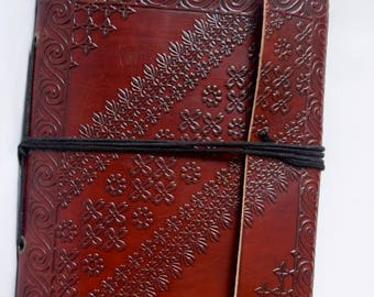Handmade Leather Journals/Diaries/Notebook/Sketchbook/Back-to-School