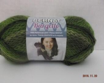 Bernat Bargello Yarn ~ Colour # 43243 Olive ~ 100 Grams ~ 90 Yards ~ #6 Super Bulky