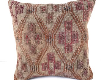 Vintage Turkish Kilim Cushion