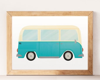 Nursery cars, Cars print, Cars wall print, Children wall art, Wacky cars, Baby nursery, Cars wall art, Cars wall decor, Nursery print