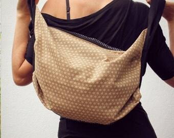 Japanese cotton bag. Comfortable design. Handmade. tote bag