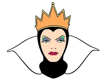 Evil Queen - Snow White - svg file