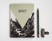Journal 2017 eco-friendly - perfect gift - diary 2017 - weekly journal - calendar 2017 - journal A5