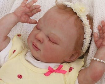 """Beautiful Limited Edition 19"""" Charlotte sculpt by Denise Pratt  Realistic Reborn OOAK Baby Doll (FREE SHIPPING)"""