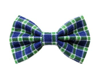 Blue Green Dog Bow Tie, Cat Bow Tie, Pet Dog Bow Tie, Pet Dog Accessories, Pet Cat Accessories, Pet Dog Clothes, Pet Cat Clothes, Pet Bow
