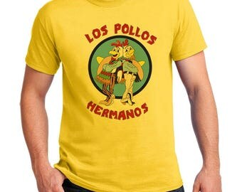 Los Pollos Hermanos T-shirts Men's, Women's, Youth, Toddler and Baby Bodysuit Creeper Halloween Cosplay shirts