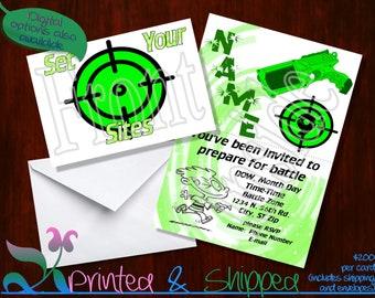 Target Invitation; Folded Card; Postcard; PDF; E-Card