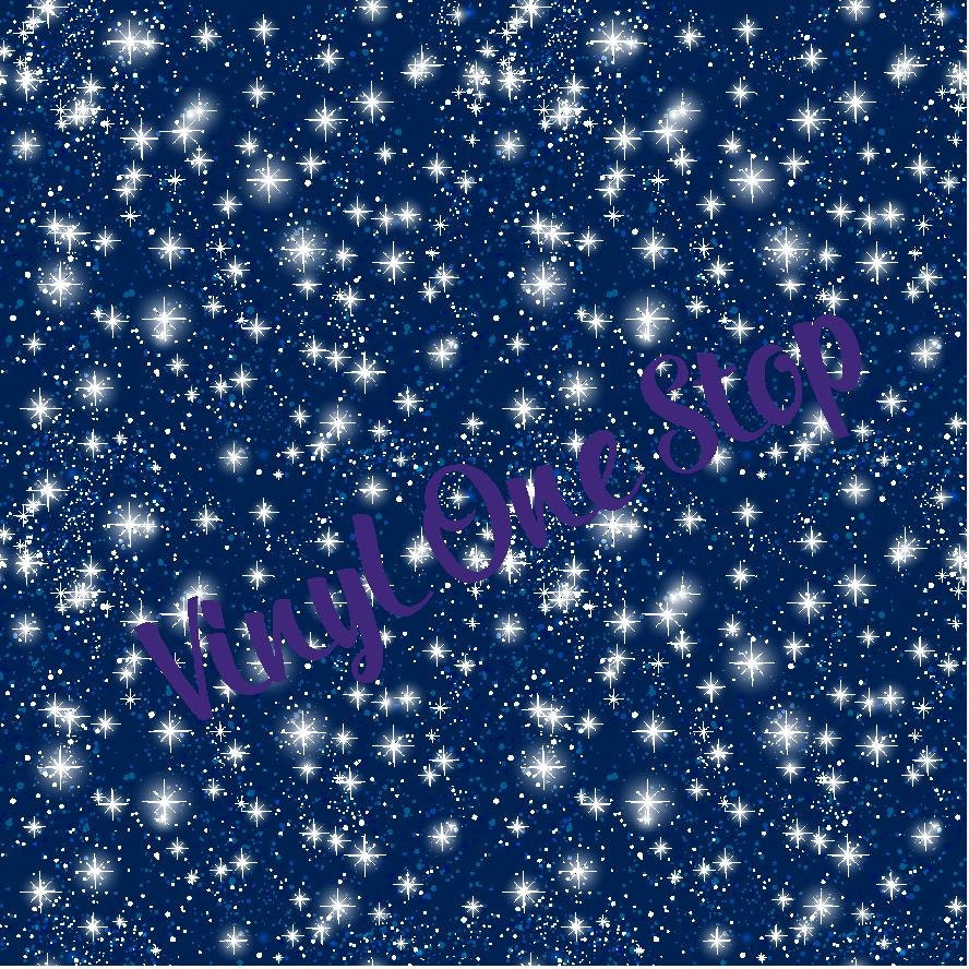 Stars Night Sky Permanent Vinyl Vinyl Sheet Mix And