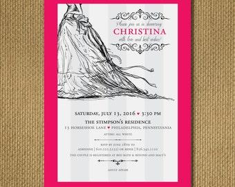 PRINTABLE | Bridal Shower Invitation